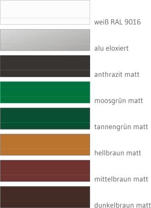 Insektenschutz Profilfarben