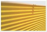 Plissee-gelb