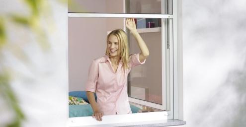Insektenschutz-Rollo-Fenster